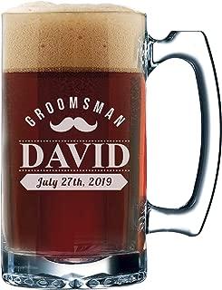 Best beer mug groomsmen gift Reviews