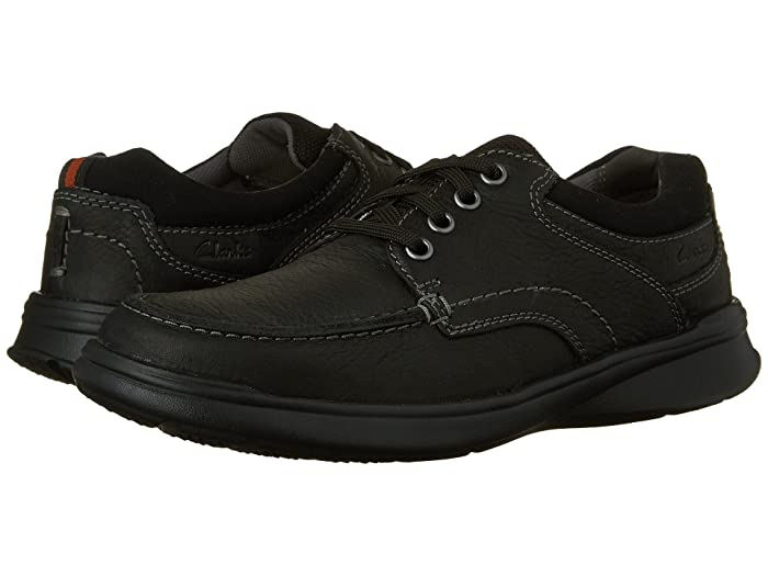Clarks  Cotrell Edge (Black Oily Leather) Mens Shoes