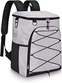 SEEHONOR Insulated Cooler Backpack Leakproof Soft Cooler Bag Lightweight Backpack Cooler for Lunch Picnic Fishing Hiking Camping Park Beach 25 Cans