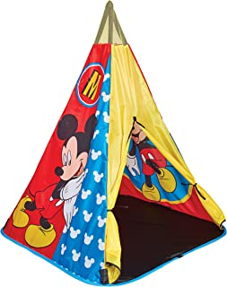Moose Toys Mickey Mouse Teepee Play Tent Wigwam, Piece of 1