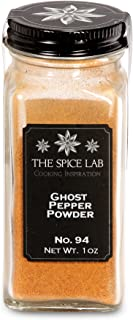 The Spice Lab No. 94 - Ghost Pepper Powder - Kosher Gluten-Free Non-GMO All Natural Spice - French Jar