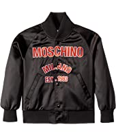 Moschino Kids - Jacket w/ Logo on Front (Little Kids/Big Kids)