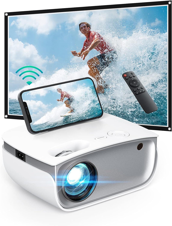 DSF 720p  Wireless Native Mini Projector $48.99 Coupon