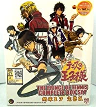 THE PRINCE OF TENNIS - COMPLETE TV SERIES + OVA DVD BOX SET (1 - 80 EPISODES)