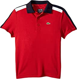 Short Sleeve Color Block Tennis Polo (Little Kids/Big Kids)
