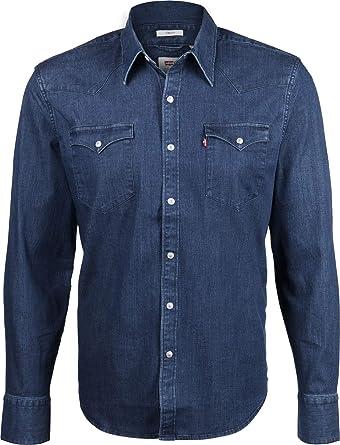 Levis Barstow Western Camisa de Manga Larga