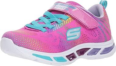 pink led light shoes