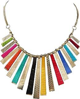 Aradhya Womens Designer Black Vevlet And Thread Necklace