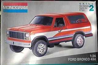 Monogram 1980 Ford Bronco 1:24 Vintage 1992 Model Kit