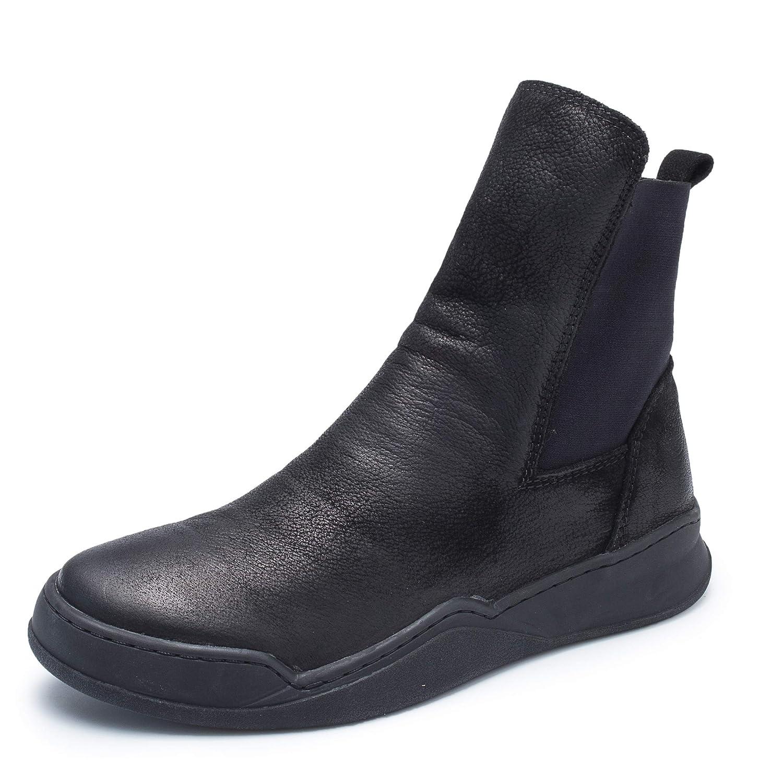 [Maysky] ショートブーツ レディース サイドゴア 厚底 歩きやすい ステッチダウン ワイズ 3E 幅広 甲高 シャーリング 疲れない 足が痛くならない 靴 かわいい おしゃれ ローヒール スニーカー