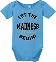 Sod Uniforms Let The Madness Begin Printed Infant Bodysuit Baby Romper