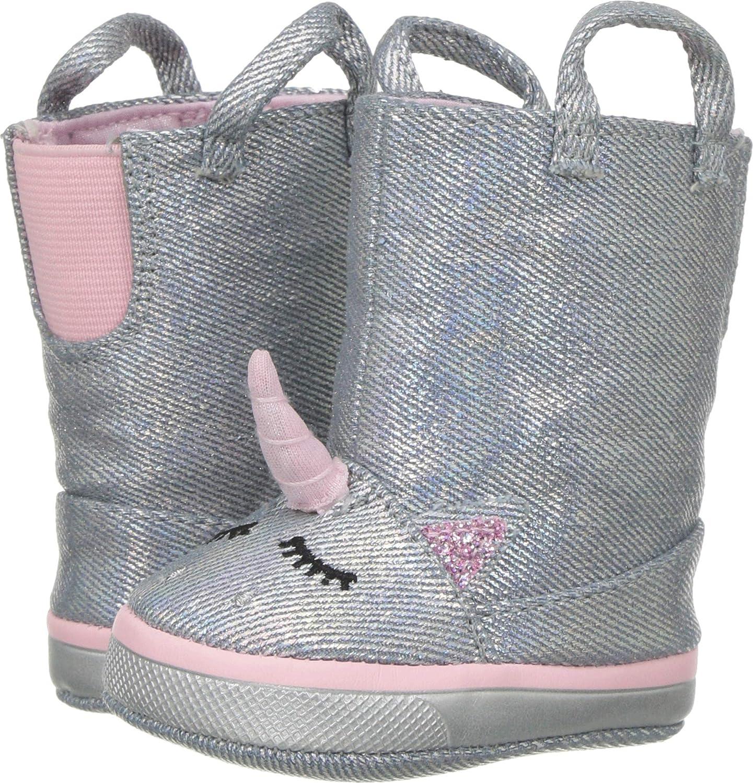 Baby Deer Womens Soft Sole Unicorn Boot (Infant)