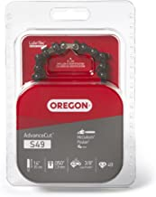 Oregon S49 AdvanceCut 14-Inch Semi Chisel Chainsaw Chain Fits McCulloch, Remington
