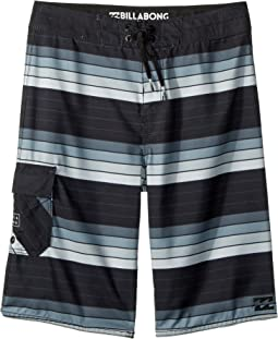 All Day OG Stripe Boardshorts (Big Kids)