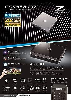 Formuler Z Alpha 4K Ultra HD 3760298280177 Android Media Streamer, Svart