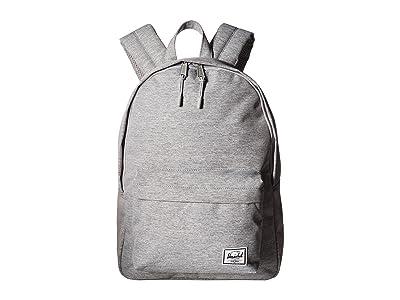 Herschel Supply Co. Classic Mid-Volume (Light Grey Crosshatch) Backpack Bags