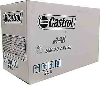 زيت محرك كاسترول ايدج 5 دبليو 20-12 عبوة *1 لتر-Castrol edge 5w20-12 Pieces * 1 L