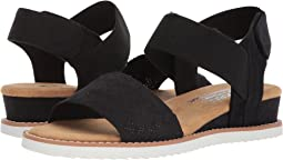 Bobs from wedge espadrille memory foam SKECHERS Shoes Shipped