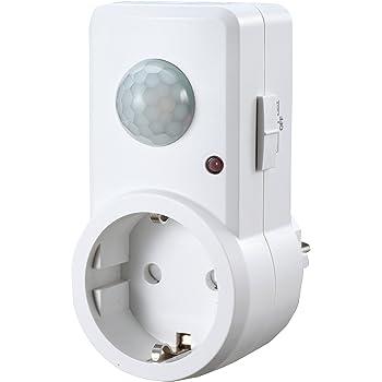 Hama Sensor de movimiento por infrarrojos pasivos especial para zonas oscuras