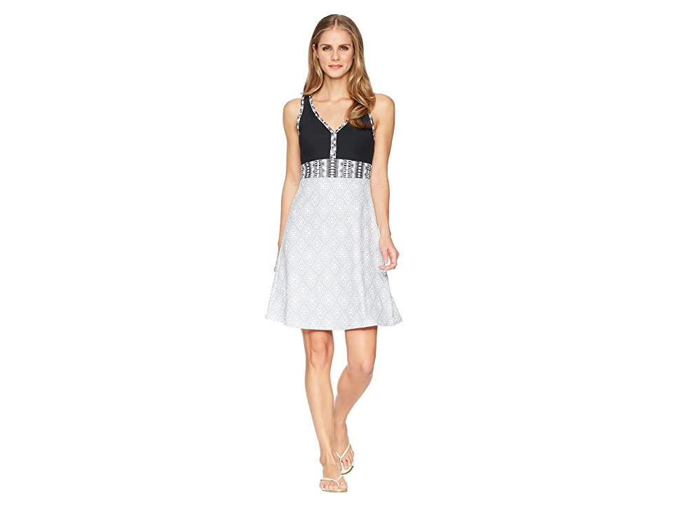 Marmot Becca Dress (White Frolic/Black) Women