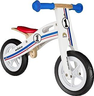 BIKESTAR Bicicleta sin Pedales para niños y niñas   Bici Madera Pulgadas a Partir de 2-3 años   10
