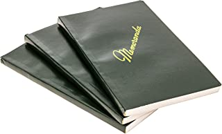 DIY Indispensables US Military Memo Book (3 Pack) Side Bound 3-3/8 x 5-5/8 Inch with Durable Sewn Binding College Ruled 72 Sheet 144 Page Notebook NSN 7530-00-222-0078 Made in USA