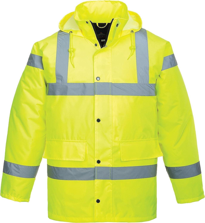 Portwest Hivis Traffic Jacke 1 Stück 6xl Gelb S460yer6xl Gewerbe Industrie Wissenschaft