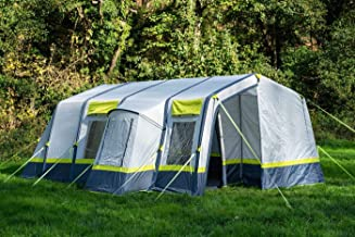 OLPRO Home Inflatable Tent 6 Berth Person 4 Windows