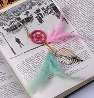 Rooh Dream Catcher ~ Pastel Bookmark ~ Handmade Hangings for Positivity (Can be Used as Home DÃcor Accents, Wall Hangings,...