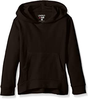 Girls' Heathered Thermal Pullover Hoody