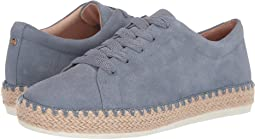 Sea Breeze Blue Washed Leather