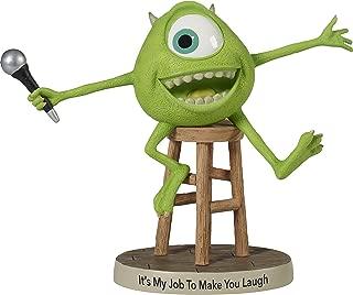Precious Moments Disney Showcase, Pixar Monsters, Inc., Its My Job To Make You Laugh Mike Wazowski Resin Figurine, 172702