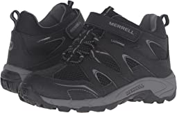 Merrell Kids Hilltop Mid Quick Close Waterproof (Little Kid)