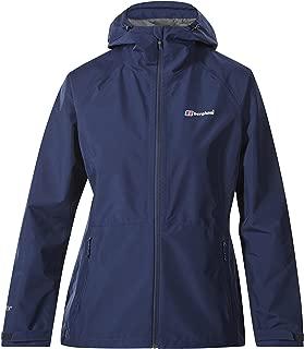 Berghaus Women's Paclite 2.0 Waterproof Shell Jacket, Black/Black