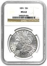 1891 Morgan Dollar MS-63 NGC $1 MS-63 NGC