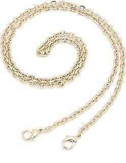 Classico fai da te croce corpo catena cinghia per piccole borse Pochette Mini NM Eva Toiletry Pouch 26 19 (borsa d'oro cat...