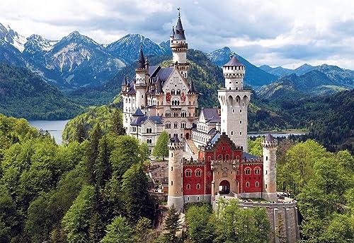 Buffalo Games 2000pc, Neuschwanstein Castle, Bavaria - 2000pc Jigsaw Puzzle by Buffalo Games