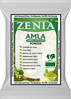 Zenia Natural Amla Powder (Indian Gooseberry) Powder 100 grams
