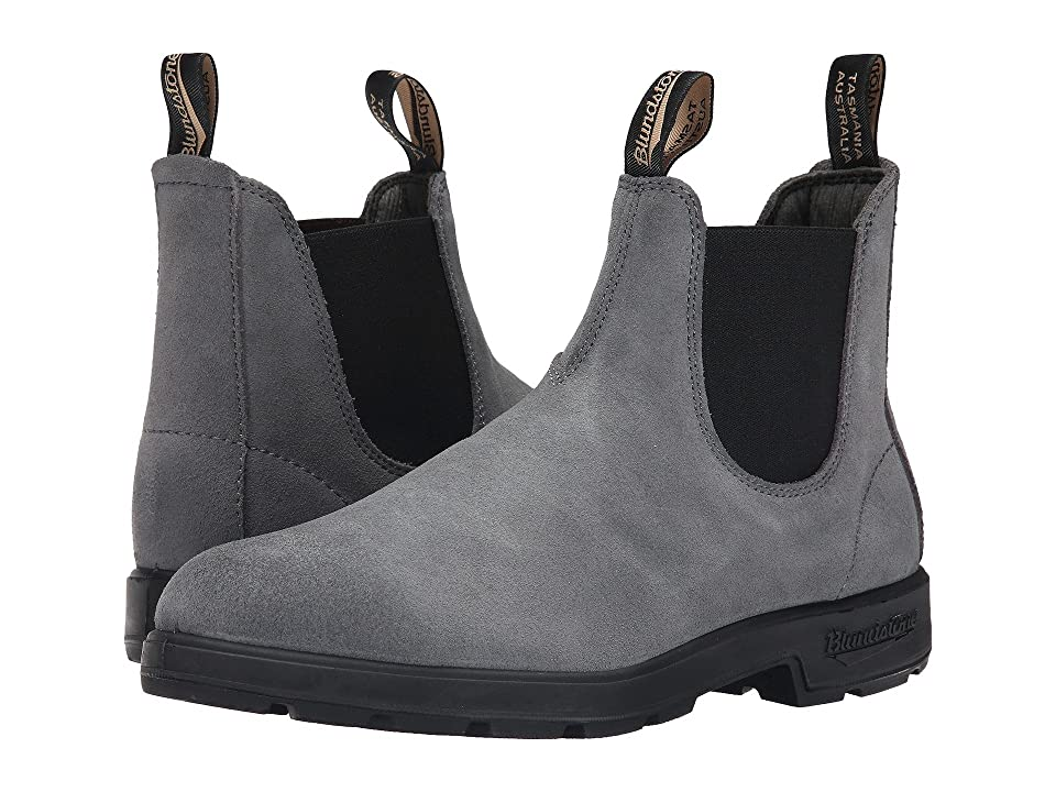 Blundstone BL1460 (Charcoal Suede Rub) Work Boots