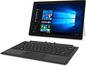 RCA 12.2 Inch 2-in-1 Notebook Tablet with 64GB Storage, Intel Celeron N4000 Processor, 1920x1200...
