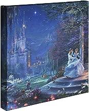 Thomas Kinkade Studios Cinderella Dancing in the Starlight 14 x 14 Gallery Wrapped Canvas