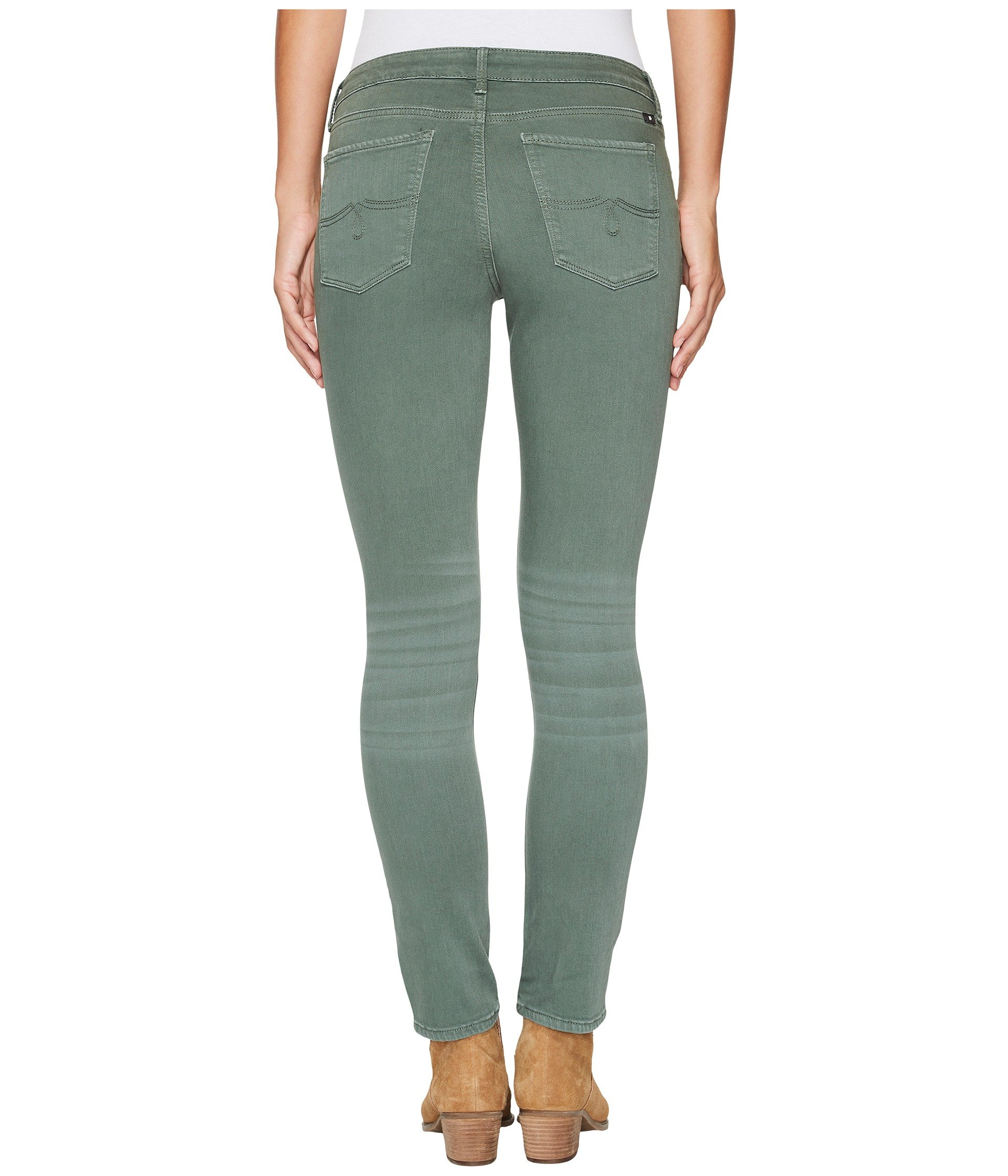 lucky brand lolita skinny jeans in duck green at. Black Bedroom Furniture Sets. Home Design Ideas