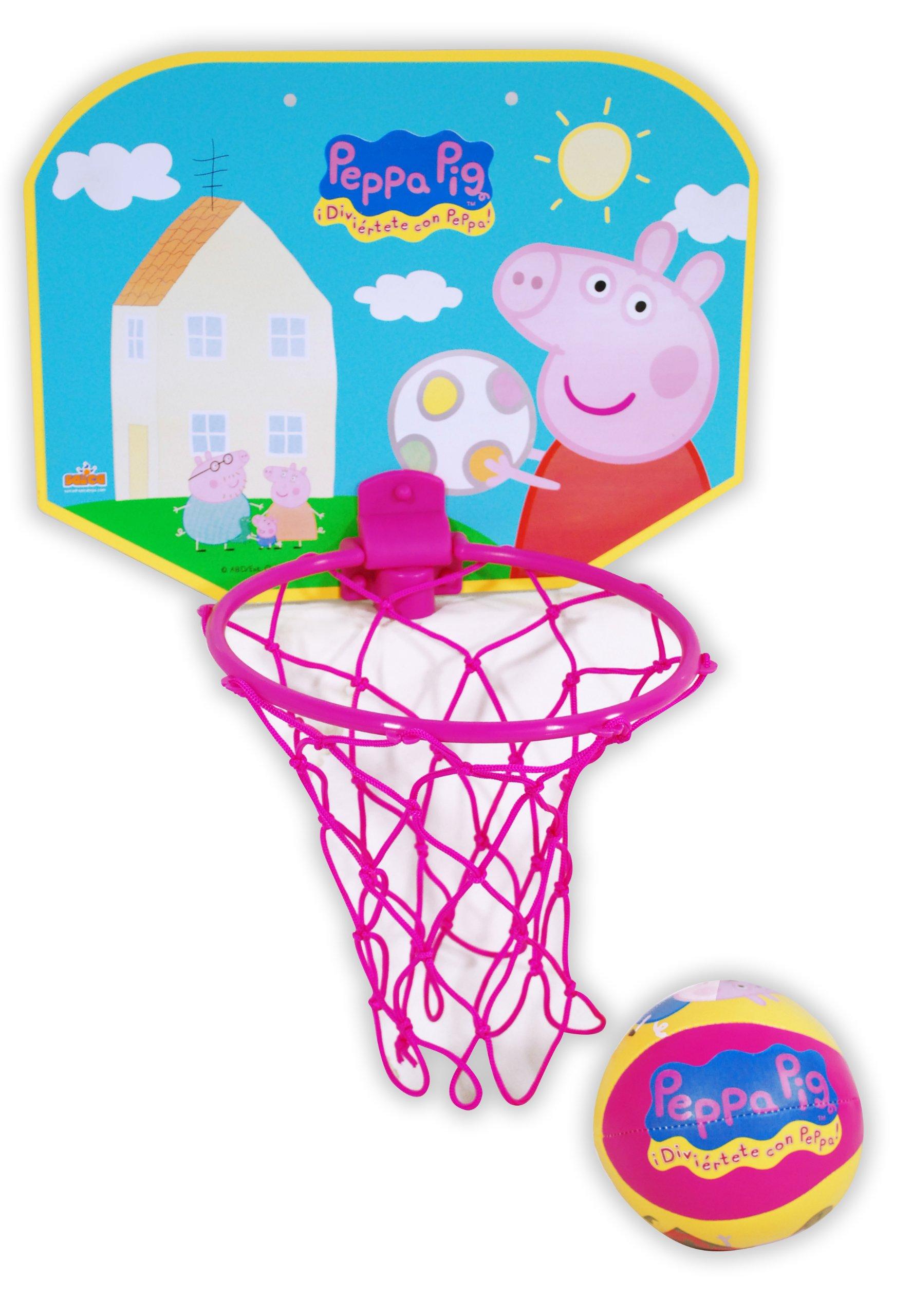 Peppa Pig - Mini Basket (Saica Toys 9128): Amazon.es: Juguetes y ...