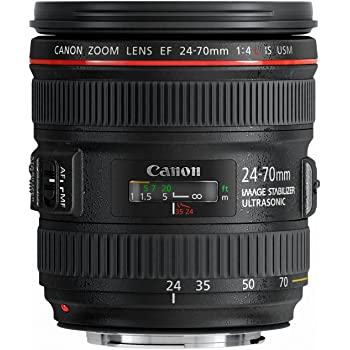 Canon EF 24-70mm f/4.0L IS USM Standard Zoom Lens - 6313B002