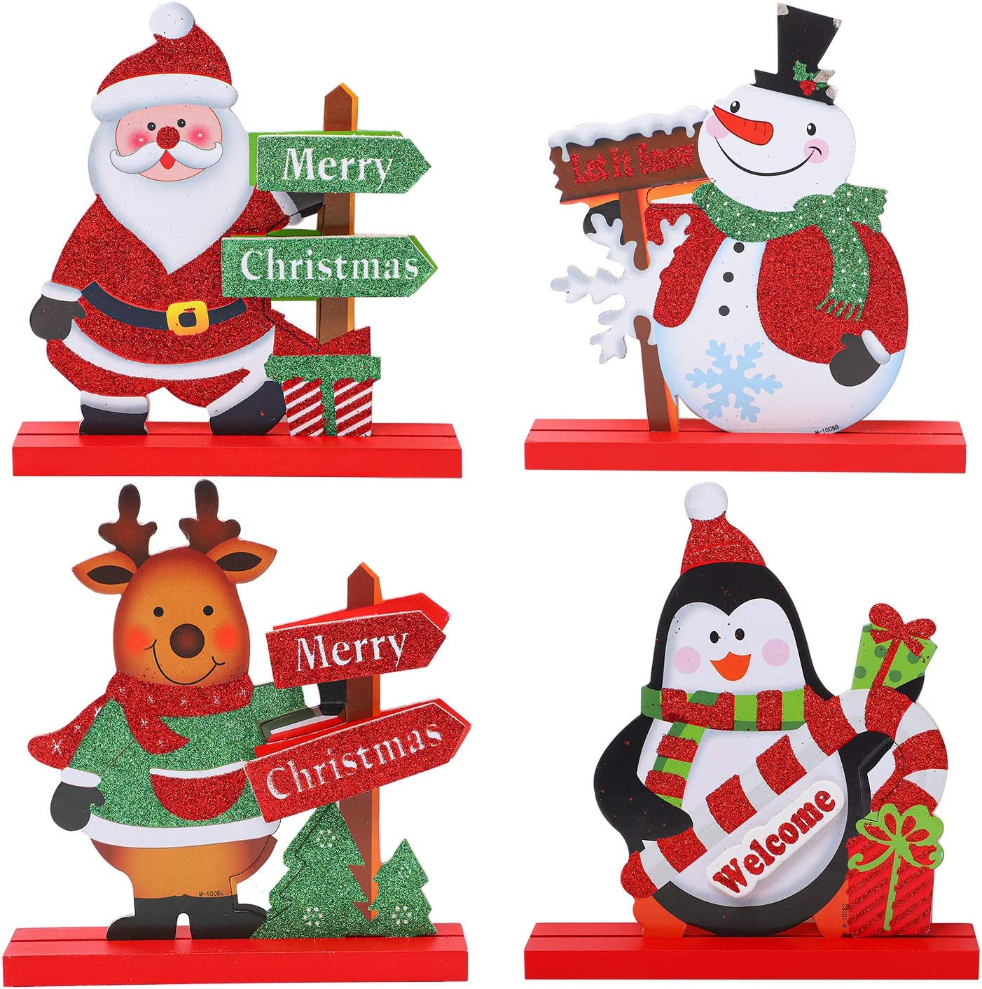 URATOT Discount mail order 4 Pack Christmas Table Dinner gift Party Coffe for Decorations