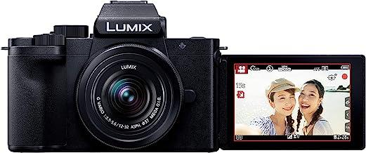 パナソニック Vlog ミラーレス一眼カメラ ルミックス G100K 標準ズームレンズキット ブラック DC-G100K-K