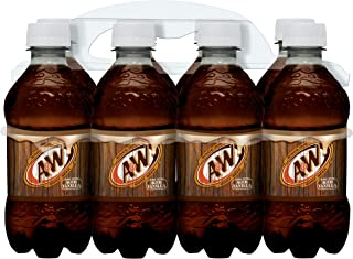 A&W Root Beer Soda, 12 Fluid Ounce Bottle, 8 Count