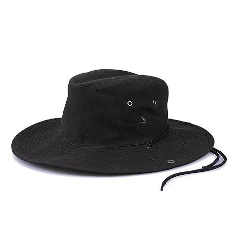 7d45ff56 Krumba Men's Cotton Oilskin Outdoor Water Resistant Hat