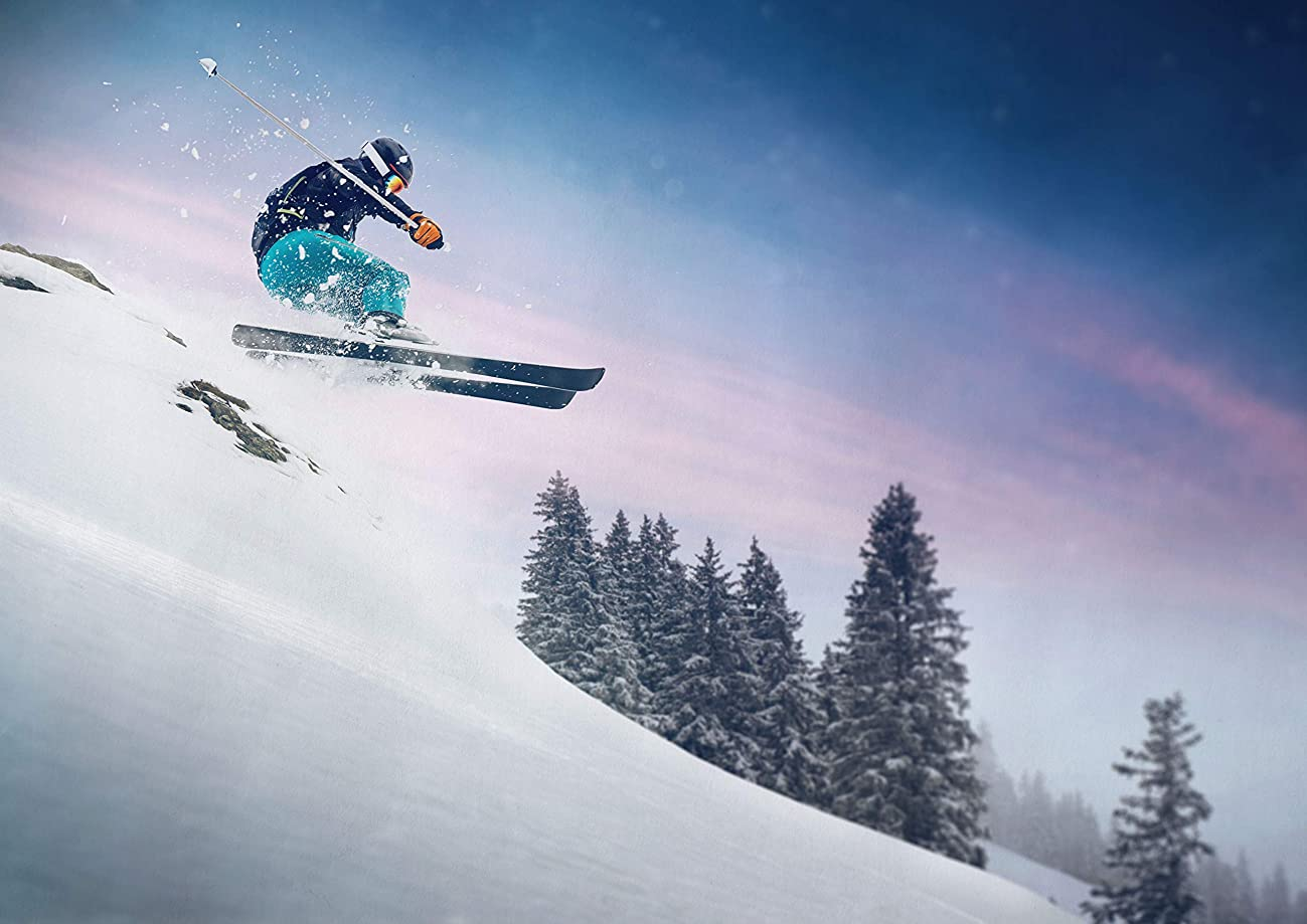 シングル側面A1  恐ろしいスノーボードジャンプのポスターサイズ60×90センチメートルスノースポーツのポスターギフト#16593