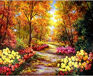 Beauenty DIY Painting By Numbers Home Decoration for Kids & Adults Beginner for Living Room DIY Digital Canvas Oil Paintin...